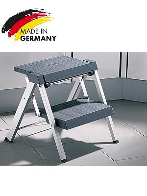 hailo stepfix einbauklapptritt f r k chenschr nke schubladen und sockelr ume ab 500 mm breite. Black Bedroom Furniture Sets. Home Design Ideas