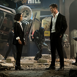Men in Black MIB Chris Hemsworth Tessa Thompson