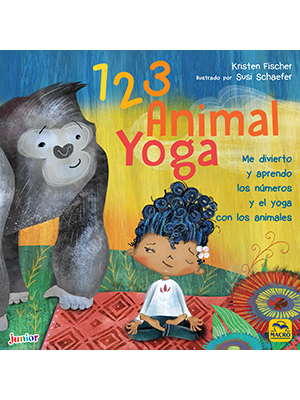 1 2 3 Animal Yoga: Me divierto y aprendo los números y el ...