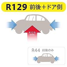 R129 360 安全 安心 新生児 側突 新基準 規則 ベッド 回転