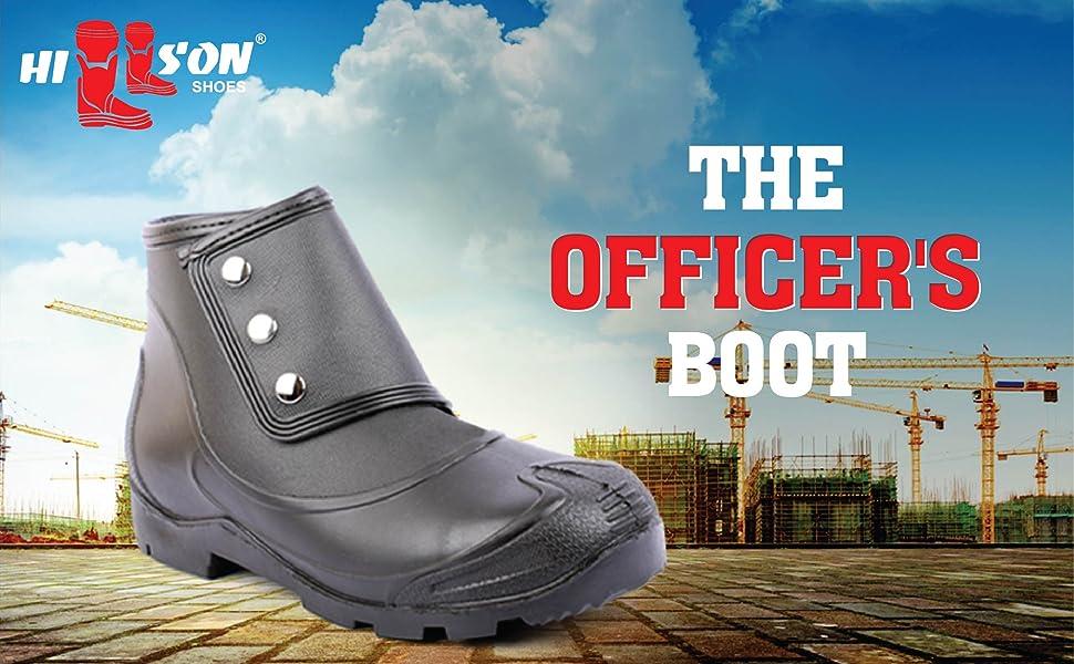 No risk button boot, hillson shoe, best shoe, safety shoes