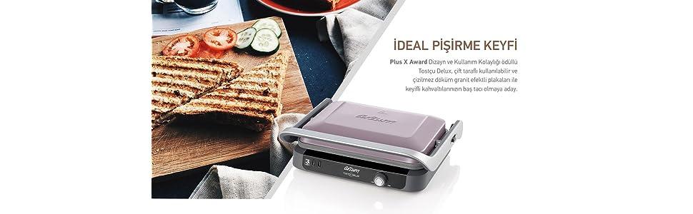 arzum ızgara ve tost makinesi