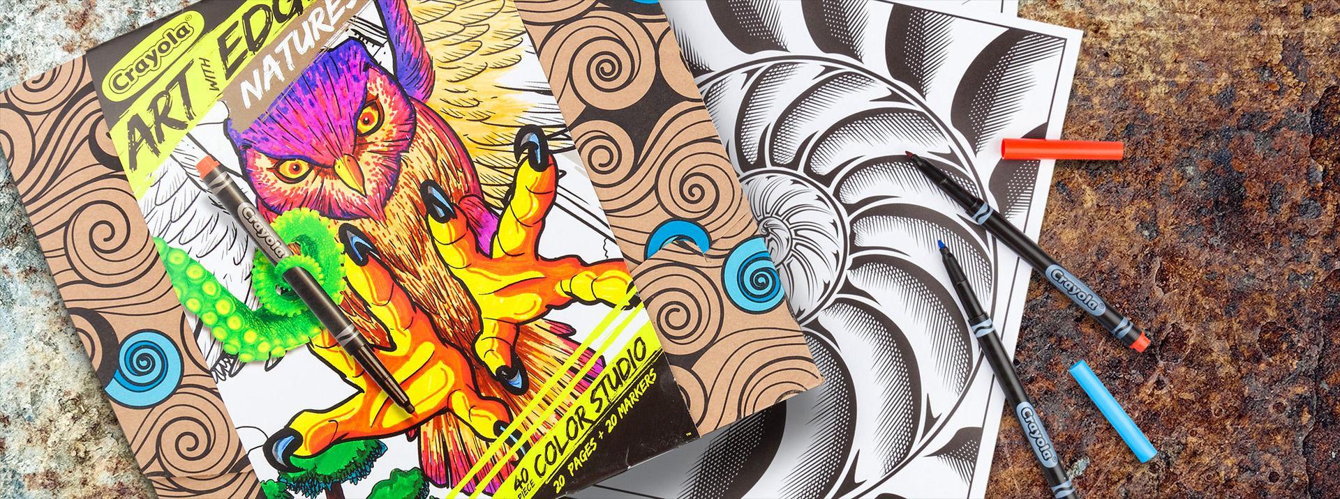 Amazon Crayola Art with Edge FX Colored Pencils 16