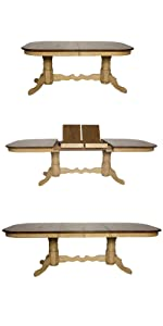 round tables,foyer,breakfast nook,small spaces,small dining tables,amish,light wood,two-tone,cafe