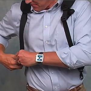Fully adjustable triglides on straps