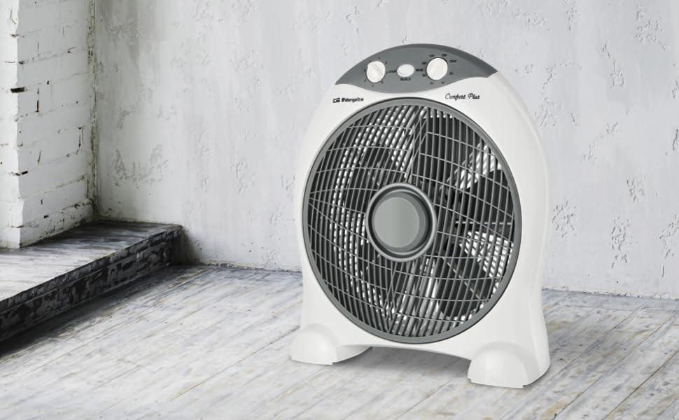 Orbegozo BF1030 Ventilador de suelo con 5 aspas, dispositivo de ...