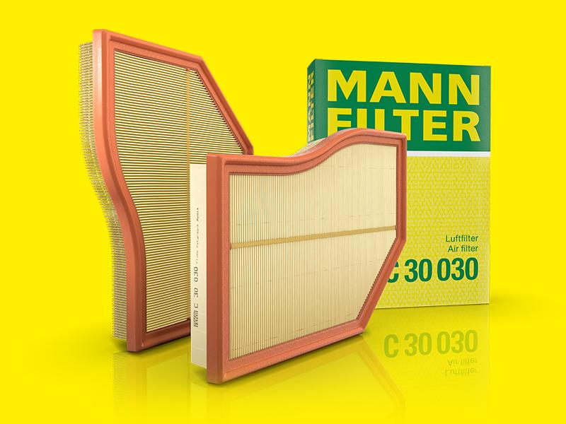 Per Automobili Originale MANN-FILTER Filtro Aria C 28 105
