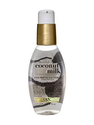 coconut milk serum smoothing