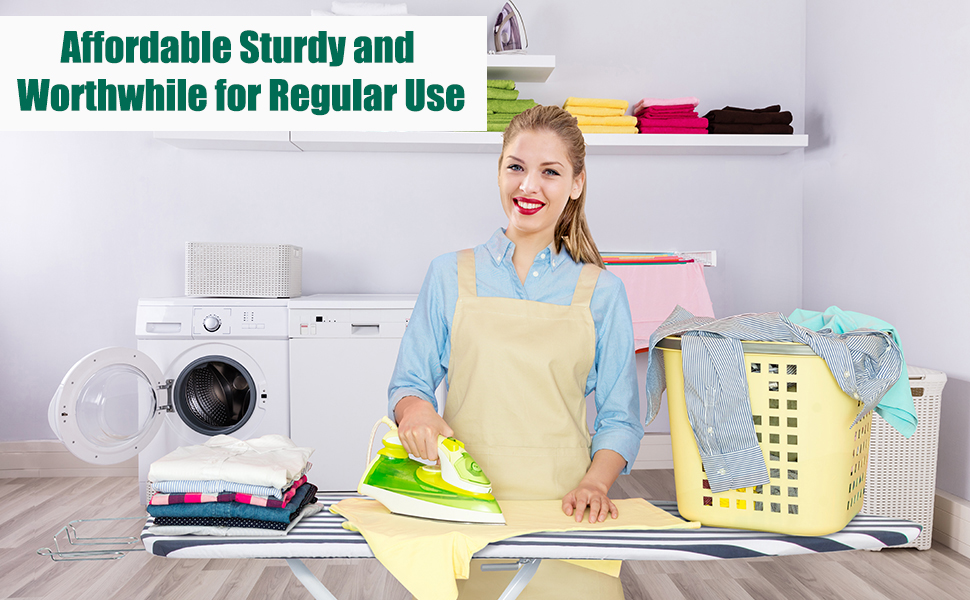 Affordable ironing board with fantastic quality for regular use worth your investment