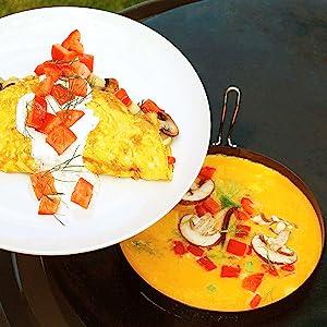 griddle ring omelet