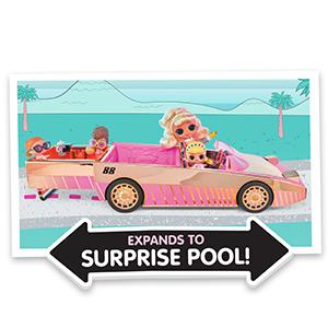 cozy coupe lol carpool; lol surprise dar; lol best car; lol new car; lol surprise pool car; car pool