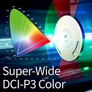Super-Wide; Home Theater; MH535FHD; DCI-P3 Color