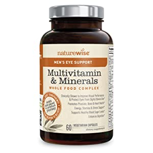 best men\'s over 50 multivitamin 2020 Amazon.com: NatureWise Men's Whole Food Multivitamin with Eye