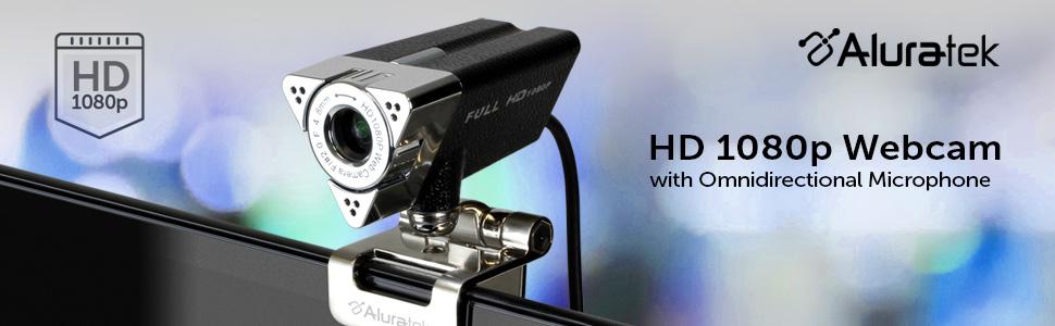 Aluratek HD 1080p Webcam