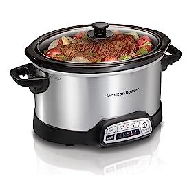 crock;pot;cookers;crockpots;programmable;cuisinart;all;clad;pots;breville;4;quart;timer;rival