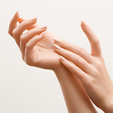 Helps to keep hands nourished and soft