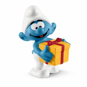the smurfs, smurf party decorations, smurf party favors, smurfette, papa smurf, Schleich