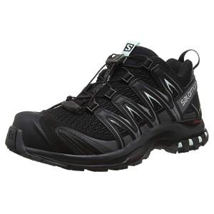 Salomon XA Pro 3D W, Zapatillas de Trail Running para Mujer, Negro (Black/Spectrum/Boss Blue), 42 EU: Amazon.es: Zapatos y complementos