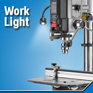 work light, drill press work light,