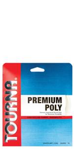 premium poly tennis string