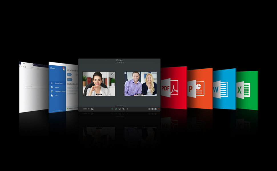 BenQ meeting room smart projector  elevates your agile team to boost efficiency