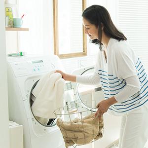 ドラム式洗濯機でもお使いいただけます