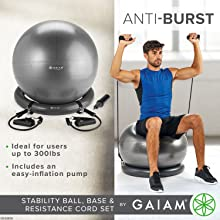 Anti-Burst Balance Ball