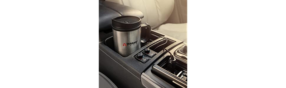heated mug, heated cup, car mug hot, car heated mug, heated tumbler, 12v tumbler