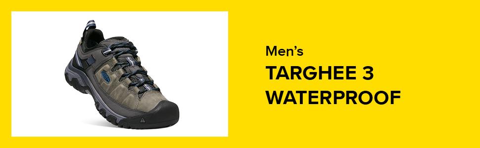men targhee walking shoe keen, keen targhee walking shoe, waterproof trekking shoes