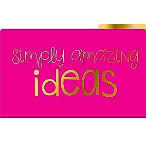Simply amazing ideas folder