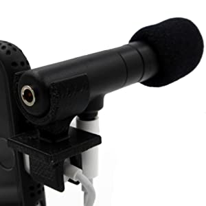 Ampridge MMSP MightyMic S+ Shotgun Cardioid Video Microphone for iPhone/iPad/Android with Headphone Monitor 26
