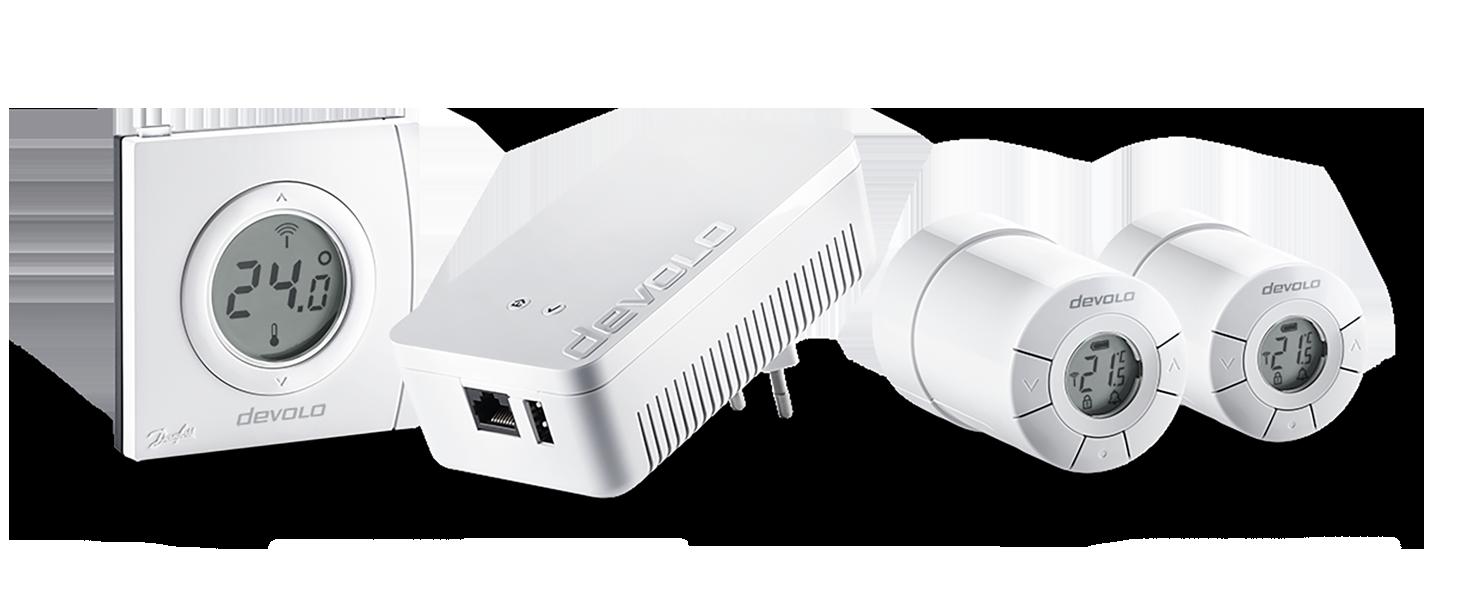 Devolo Home Control Smart Heizen Paket Funk Heizungssteuerung