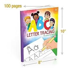 traceable alphabet workbooks for preschoolers workbooks for kindergarteners carson dellosa