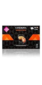 Café Royal Lungo Forte 300 cápsulas compatibles para Nespresso (R ...