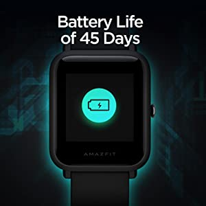 Amazfit Smartwatch with 45 Days Battery Life