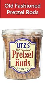 Pretzel Rods