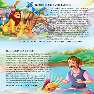 Panchatantra story book, moral stories