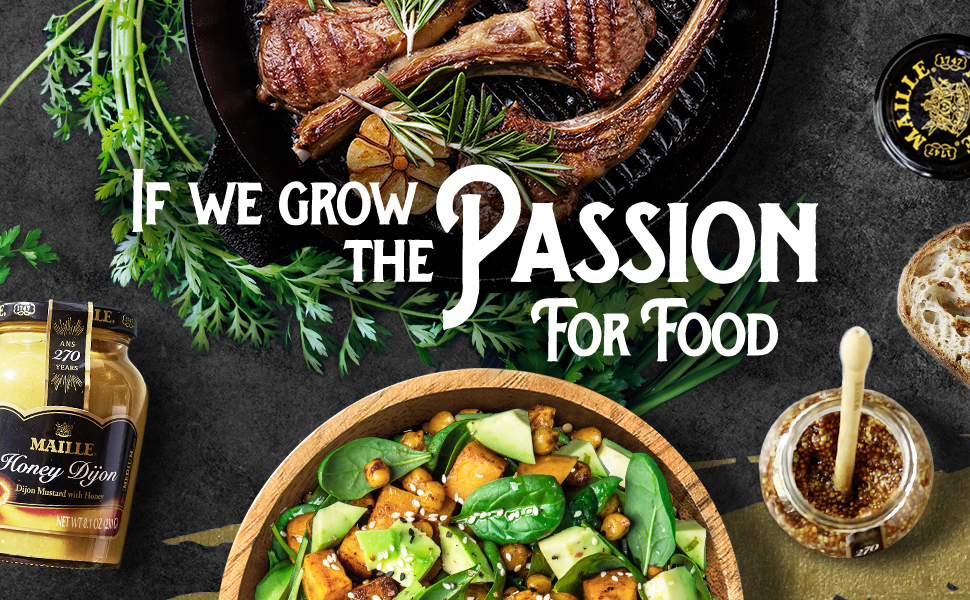 If we grow the passion for food