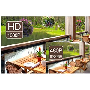 Videoüberwachung zum Staunen mit 2.0MP 1080P Full HD Auflösung