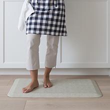 tweed, antique white, kitchen rug, kitchen mat