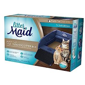 cat litter box, automatic litter box, self cleaning litter box, littermaid, tidy cats, fresh step