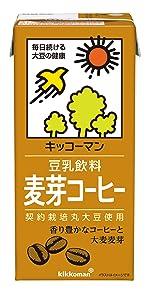 麦芽コーヒー 豆乳 コーヒー 珈琲 キッコーマン飲料 大豆飲料 マルサンアイ カロリー45%オフ