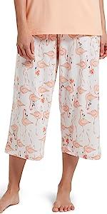 sleepwear, pjs, womens sleepwear, pajamas for women, capri pants, pj bottoms, pajama pants