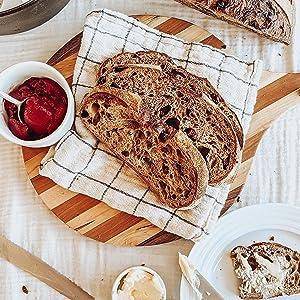 Cinnamon-Maple Sourdough Bread