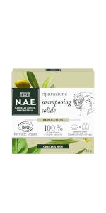 N.A.E. Naturale Antica Erboristeria Shampooing Solide Riparazione