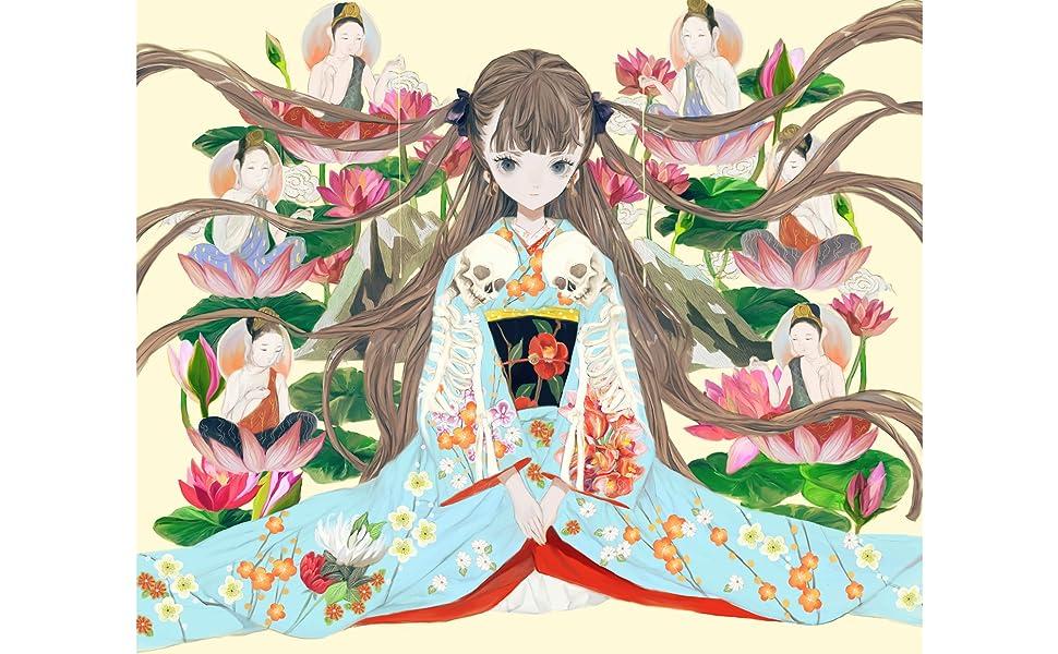 夜長姫と耳男 イラスト1