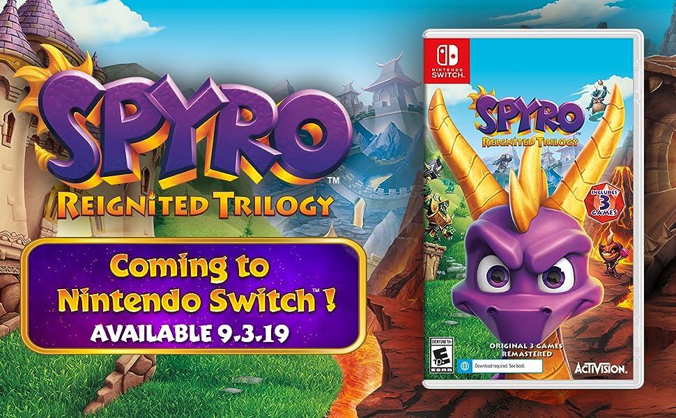 Resultado de imagen de spyro reignited trilogy switch