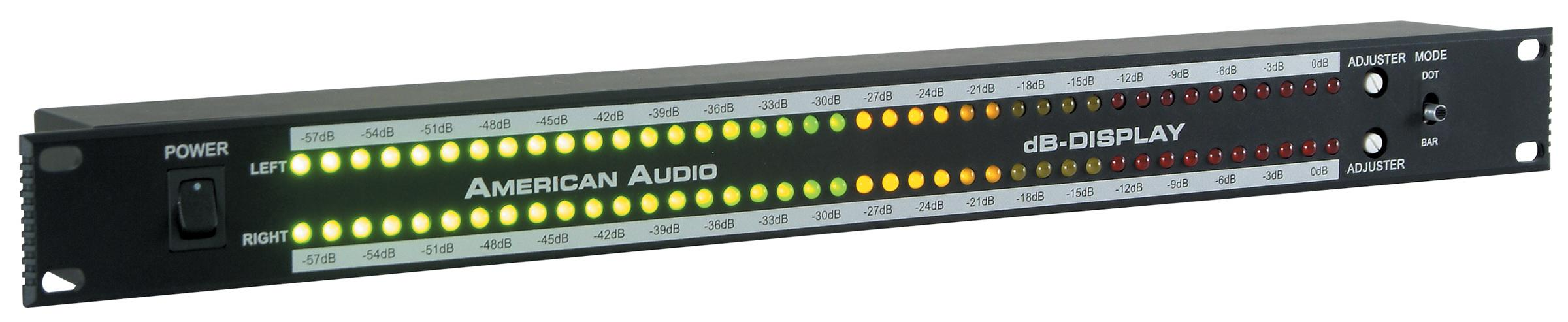 amazon   american audio db metersoundactivated rack