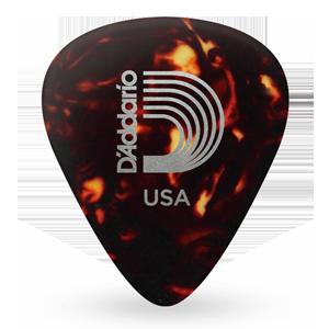 DAddario Assorted Pearl Celluloid Guitar Picks, 10 Pack, Medium