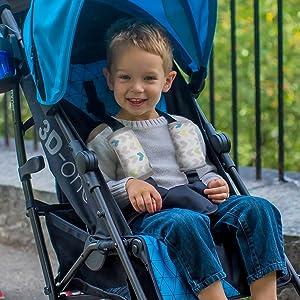 Amazon.com: Correas acolchadas de muselina para bebé de ...